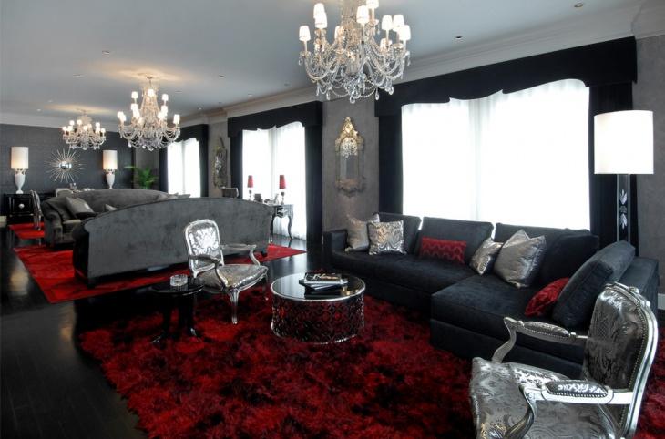 21 Gothic Living Room Designs Ideas Design Trends