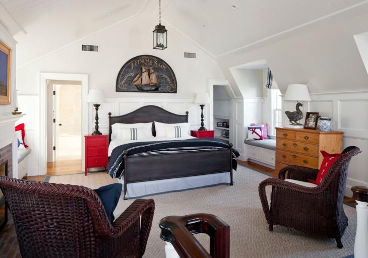 17+ Nautical Bedroom Designs, Ideas