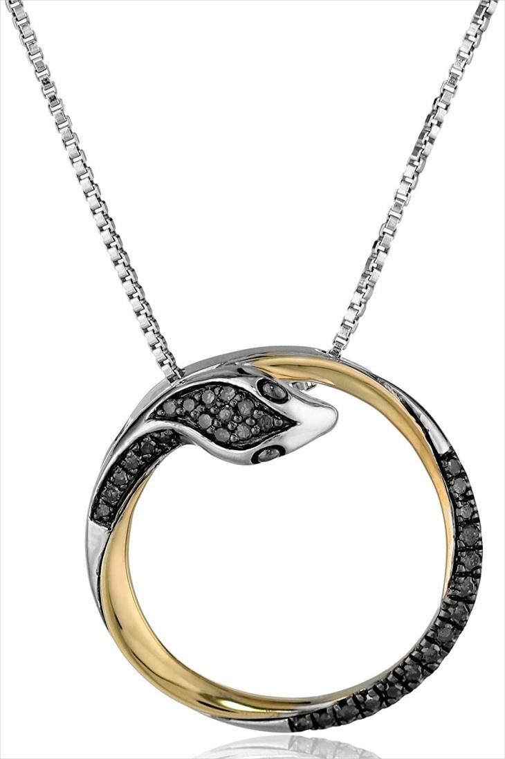 16+ Snake Pendant Jewelry Designs, Ideas | Design Trends ...