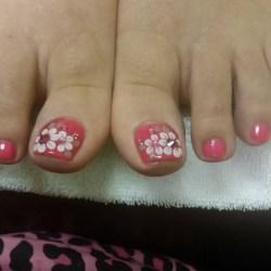 3d Toe Nail Art Nailarts Ideas