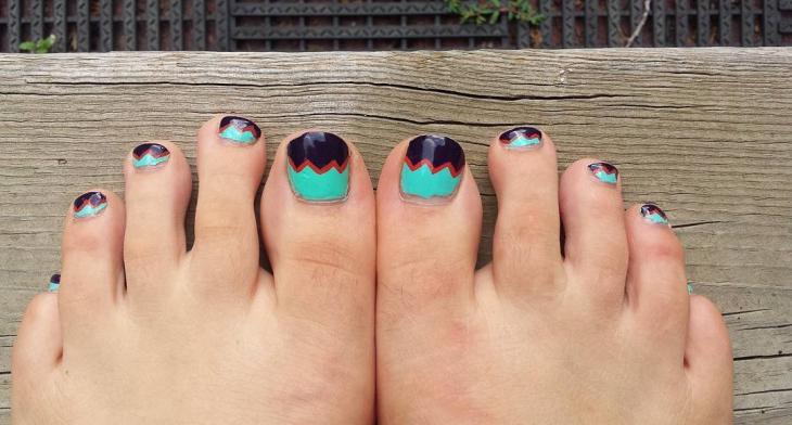 44 Toe Nail Art Designs Ideas Design Trends Premium Psd Vector Downloads