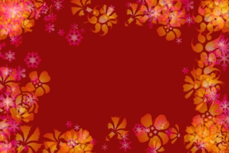 40  Border Designs   PSD  Vector EPS Format Download   Design Trends     Christmas Flower Border Design