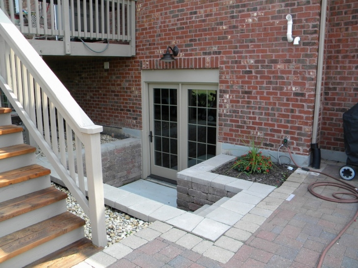 41 Entrance Designs Ideas Design Trends Premium Psd Vector   Exterior Basement Entrance Stairs   Garage   Victorian Era   Stone Wall   Access   Finished