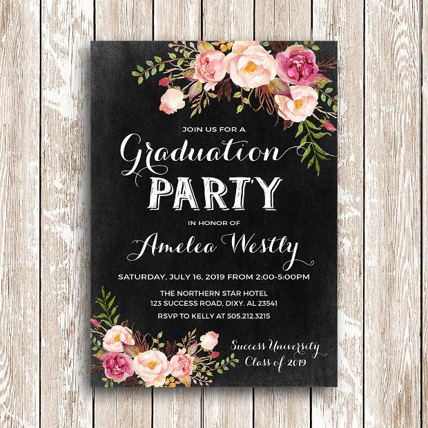 Design Graduation Party Invitation