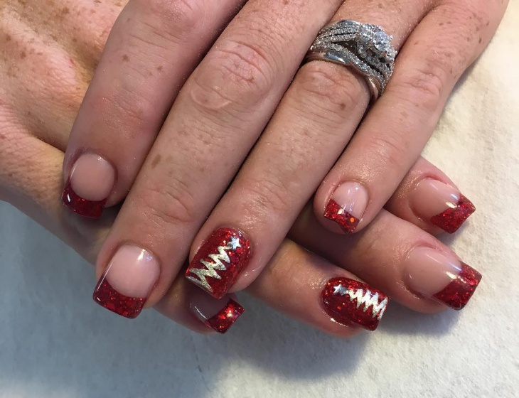 50 Christmas Nail Art Designs And Trends 2016 Inspiring