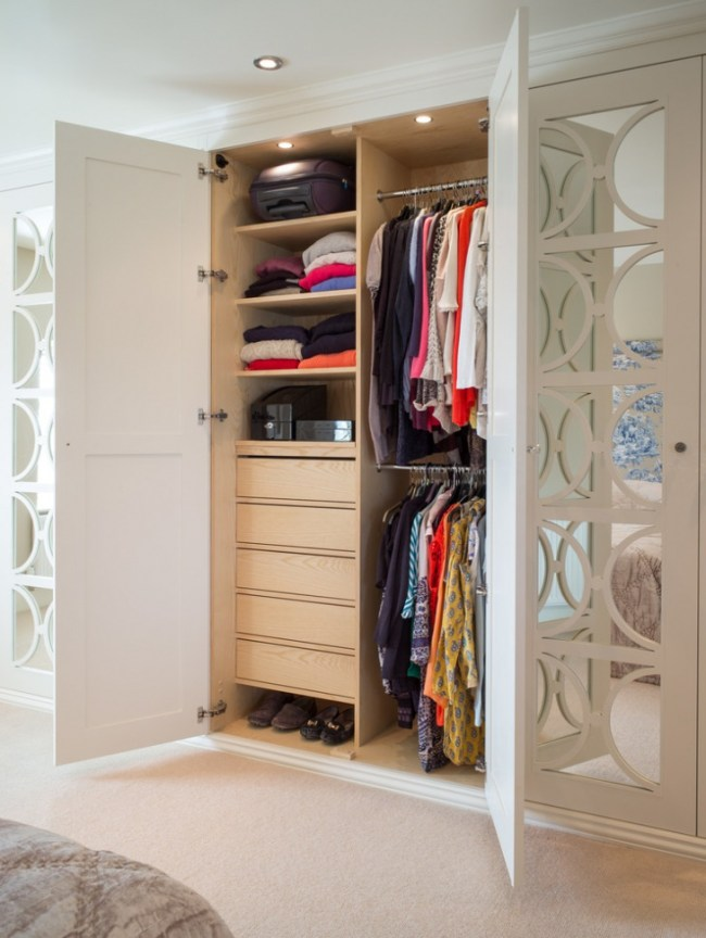 18+ Small Wardrobe Designs, Ideas | Design Trends ...