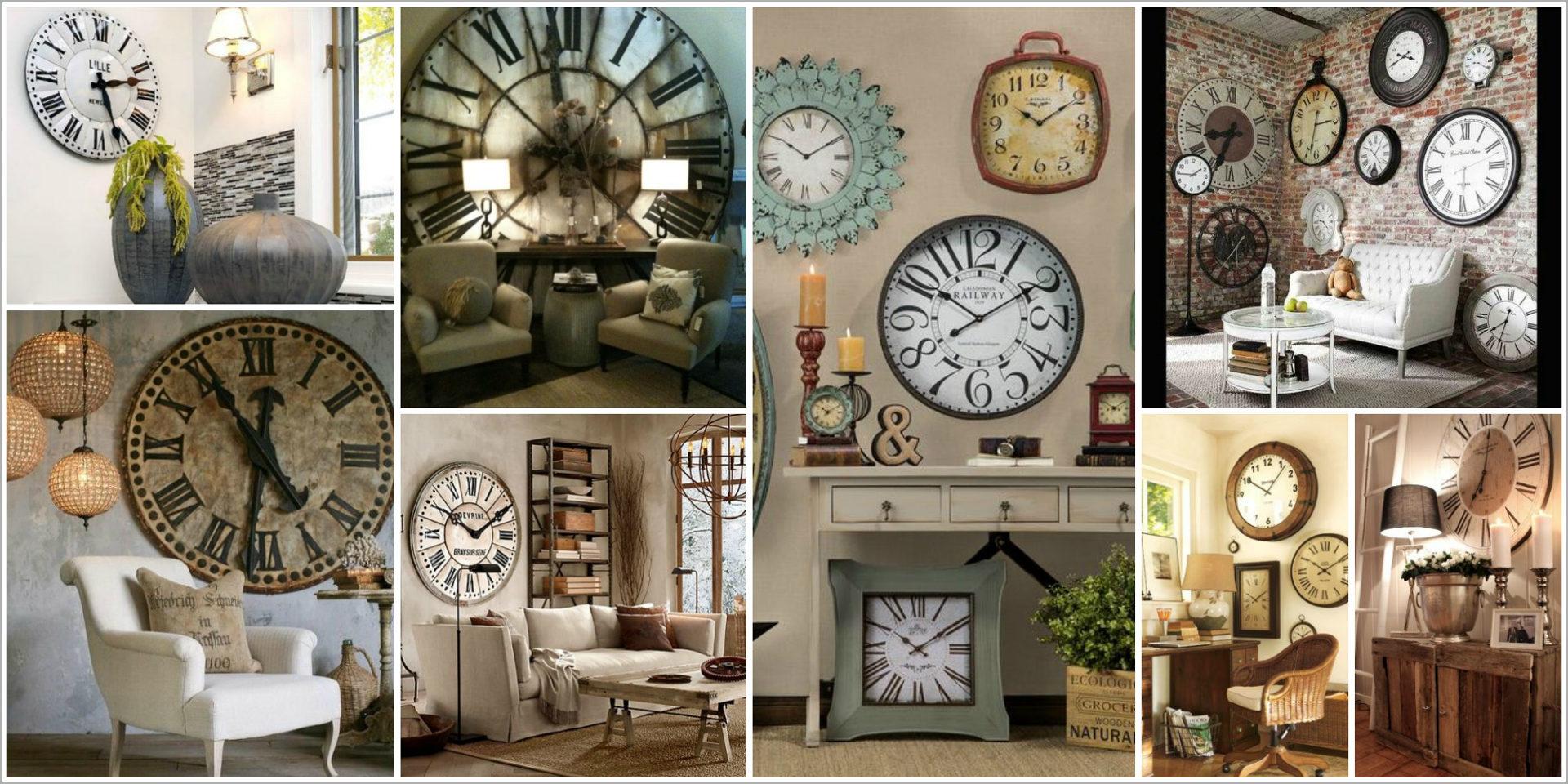 Dining Room Living Room Wall Clock Decor Ideas Novocom Top