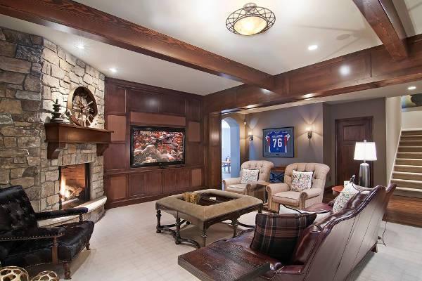 15 Corner Fireplace Designs Ideas Design Trends