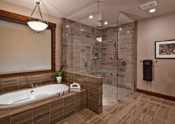 15 shower stall designs ideas
