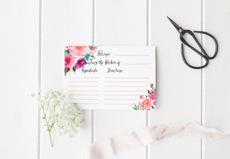 15 Recipe Card Designs Design Trends Premium PSD