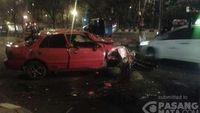 Sederet Kecelakaan Mobil Terjadi di Jakarta Pagi Ini
