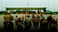 Polisi Masih Buru Ratusan Pemotor yang Terobos Tol Ancol Timur