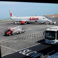 Dua Pesawat Lion Air Senggolan Saat Hendak Terbang di Cengkareng