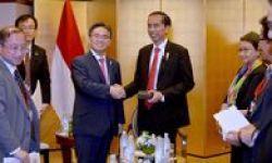 Tiba Di Nagoya, Jokowi Dijamu Gubernur Dan Bahas Kerjasama Dengan Sri Lanka