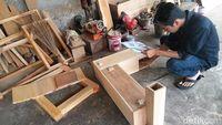 Abalito yang masih dalam pengerjaan di sebuah bengkel di Yogyakarta.