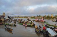 Pasar Terapung, Banjarmasin (Foto: detikTravel)