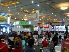 Suasana IndoComtech 2010