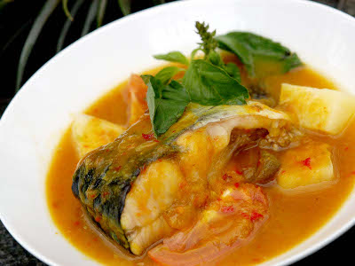 tempoyak based fish stew