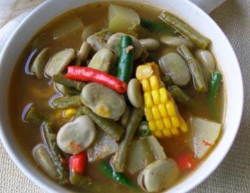Resep Sayur: Sayur Asam Toramame
