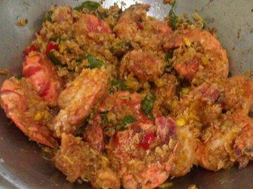 Resep Seafood: Udang Crispy Gandum Kari