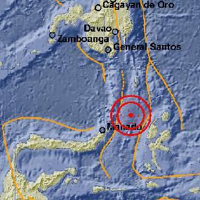 Gempa 6,9 SR Landa Tahuna Sulut
