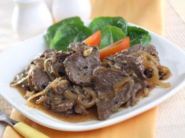 Resep Daging: Beefsteak Iris Lada Hitam