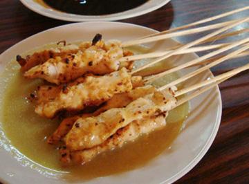 Resep Satai: Satai Ayam Kuah