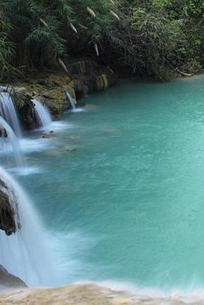 Air terjun Tat Kuang Si, Laos