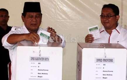 Prabowo dan Fadli Zon