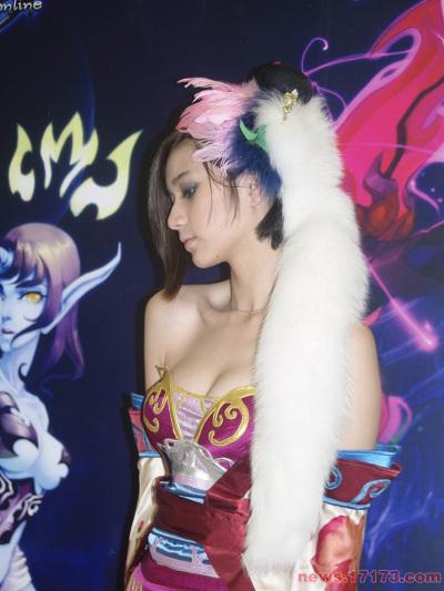 Galeri Foto Model Seksi Pameran Game ChinaJoy