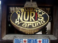 Naughty Nuris Logo Restaurant