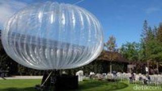Balon Google Ternyata Sudah Mengudara di Indonesia