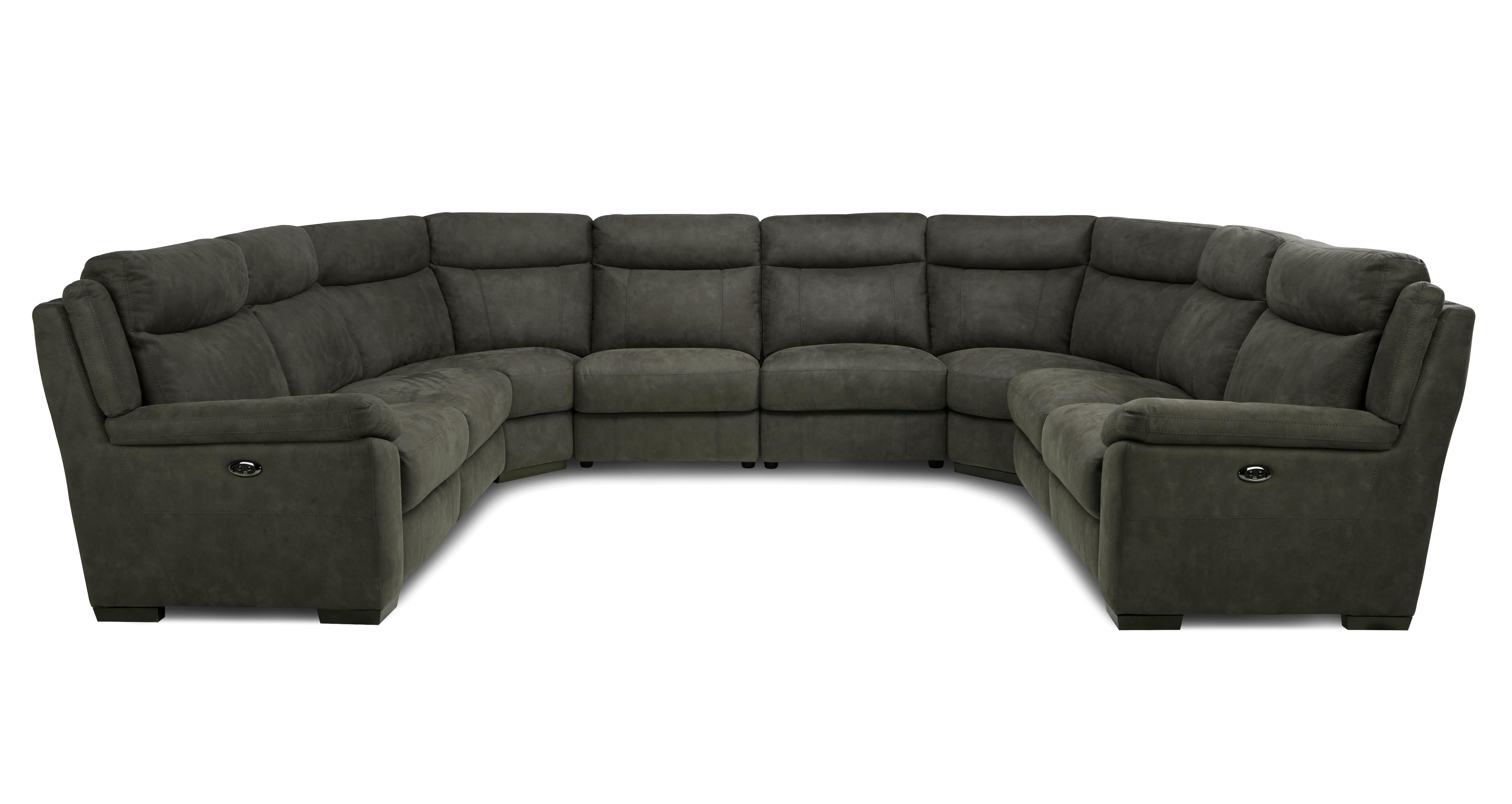 كومة من إنسانية اسقي الزهرة u shaped sofa