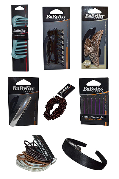 Pack of 8 hair accessories by Bayliss