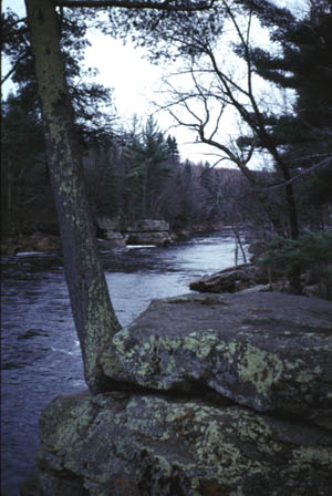 The Kettle River in Minnesota