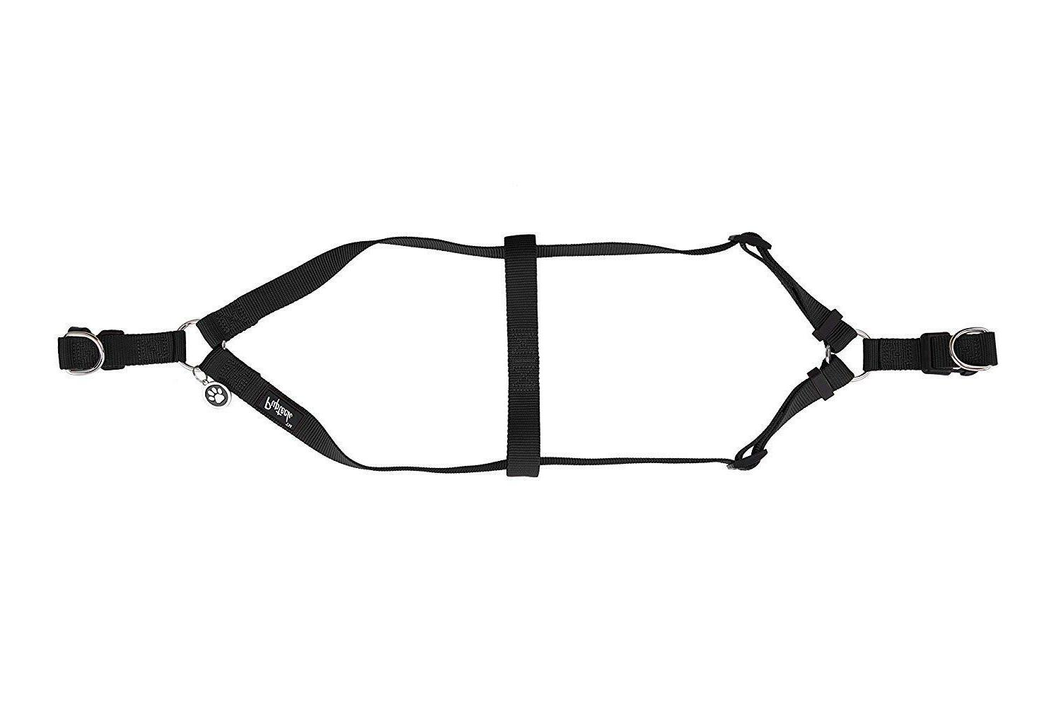 No Pull Dog Harness Reflective Adjustable Basic Nyl