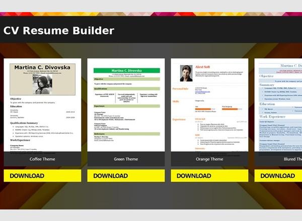 builder mobile app for ipad shopper free resume version resume builder