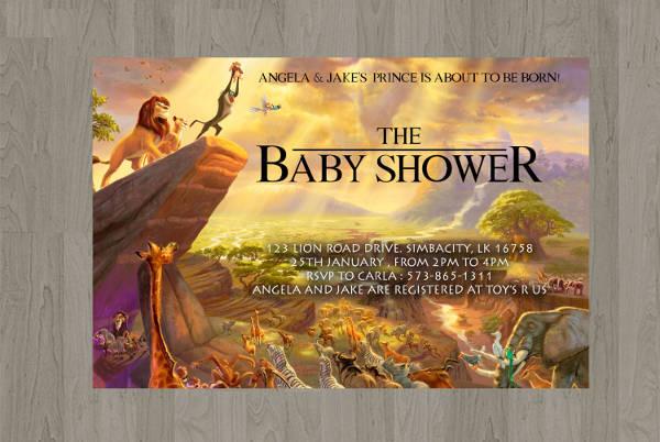 11 baby shower invitation templates