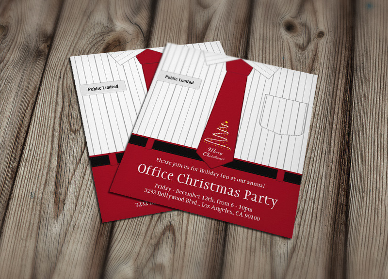 7 Office Party Invitations