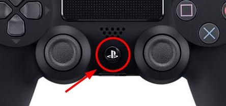 ps4 ps button