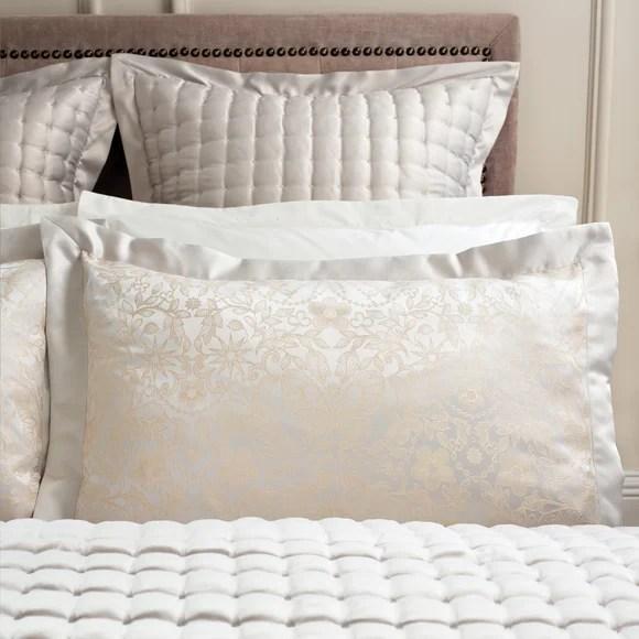 dorma ophelia natural continental square pillowcase