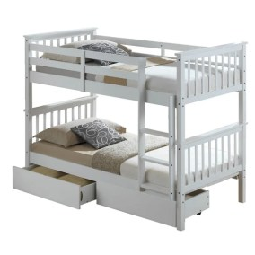 White Bunk Bed Loz Exclusively Online
