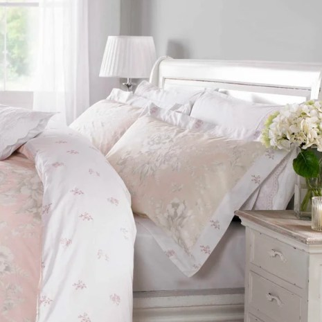 Holly Willoughby Ruby Pink Pillowcase
