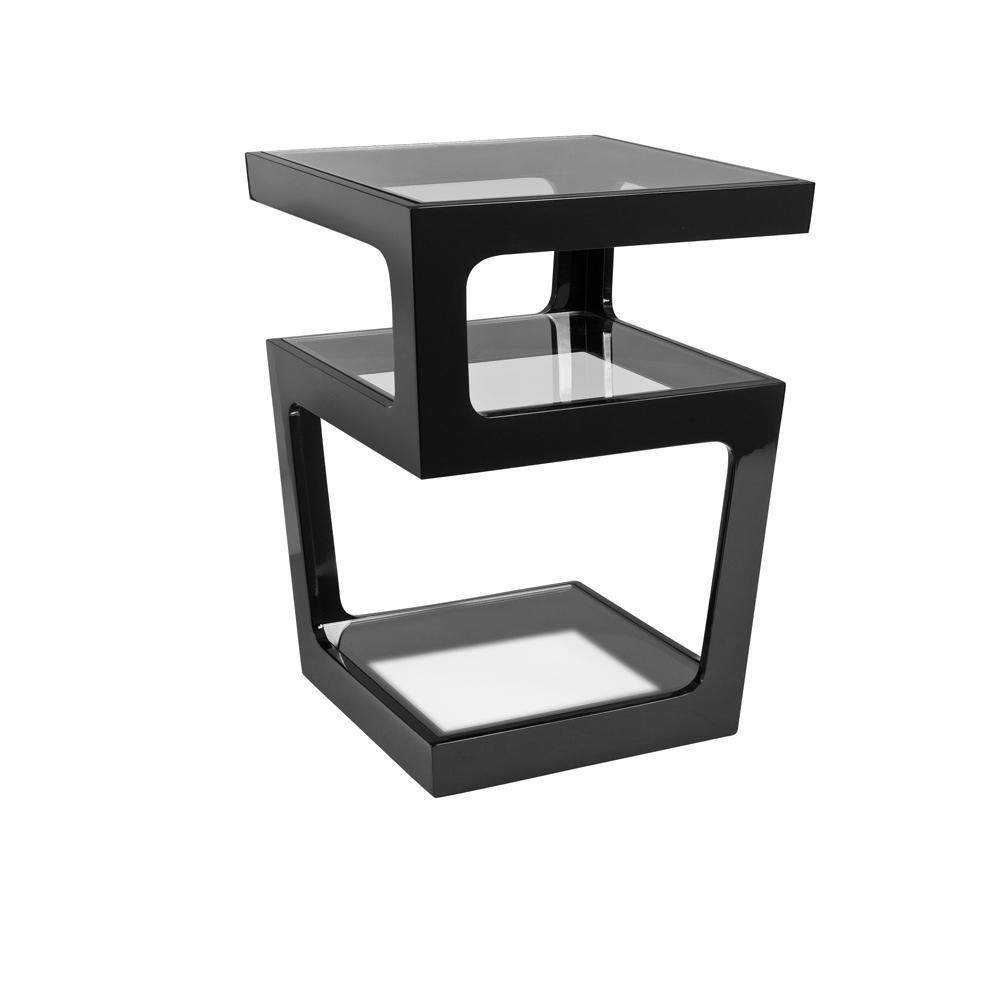 side tables modern high gloss