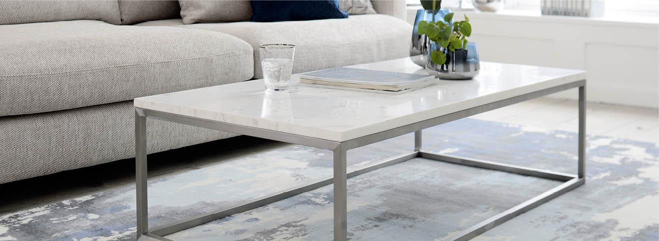 coffee tables modern glass marble