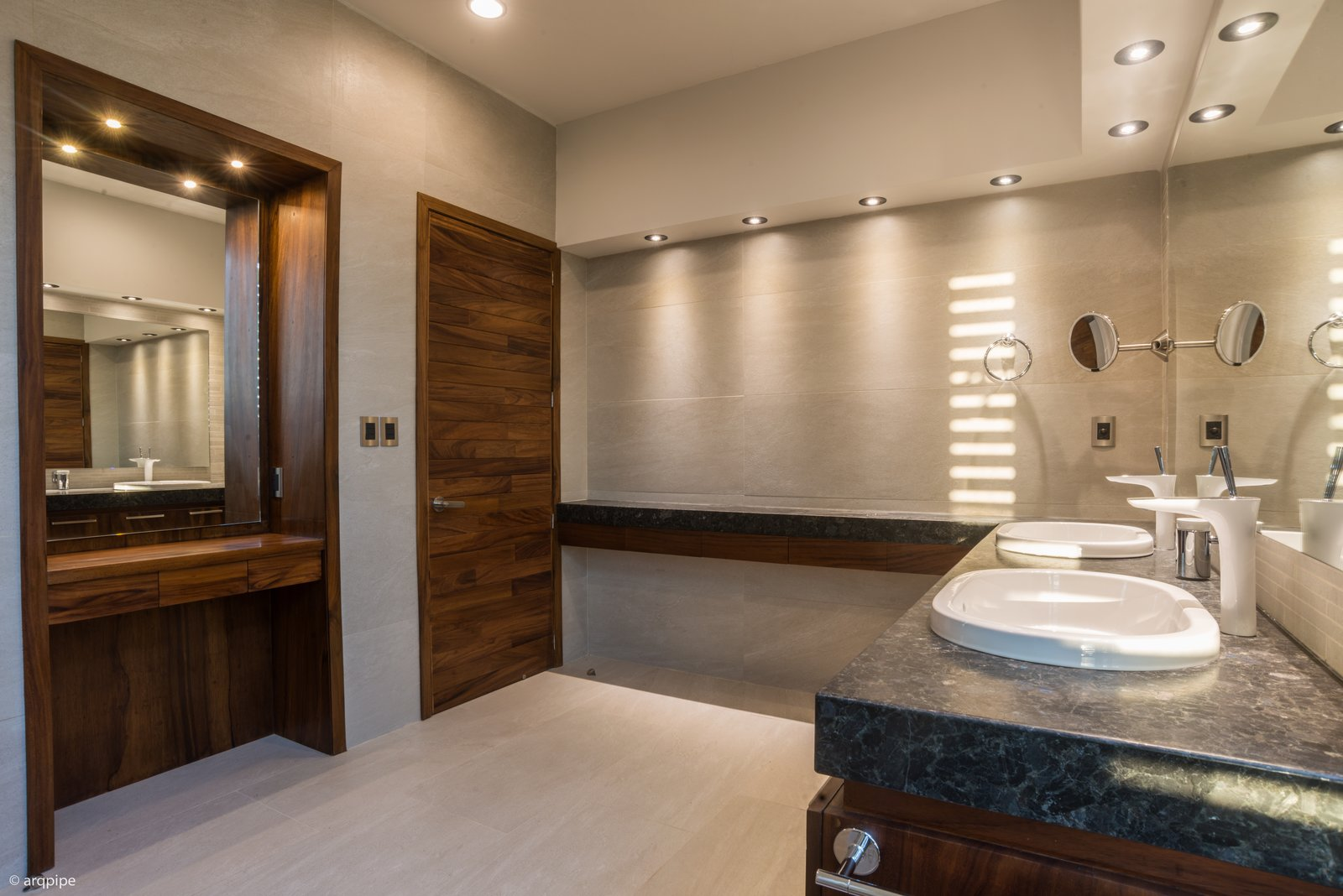 rocks out with natural stone concrete