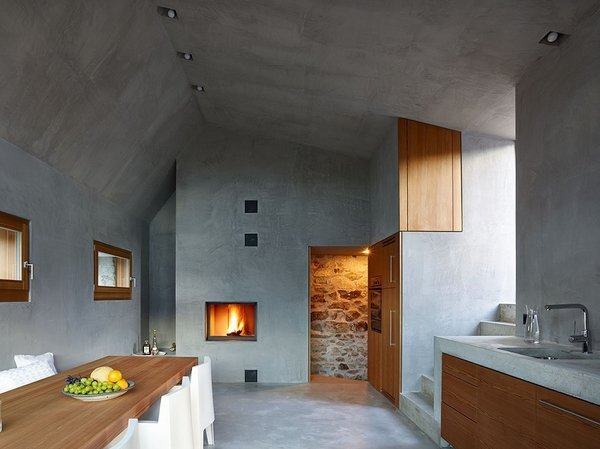 Scaiano Stone House Modern Home In Ticino Switzerland By