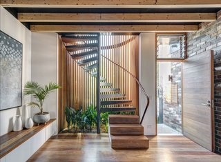 Dwell S Favorite 60 Modern Staircase Design Photos And Ideas Dwell | House Design With Stairs In Front | Victorian | Second Floor | Colour | Residential | Low Cost 2 Bhk House