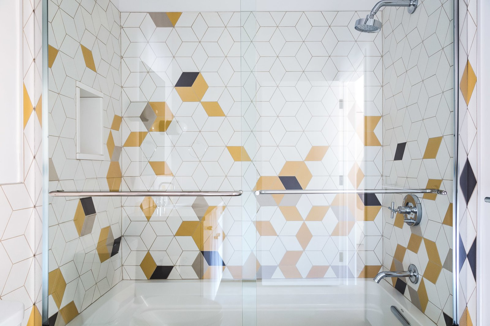 photo 5 of 114 in bath mosaic tile