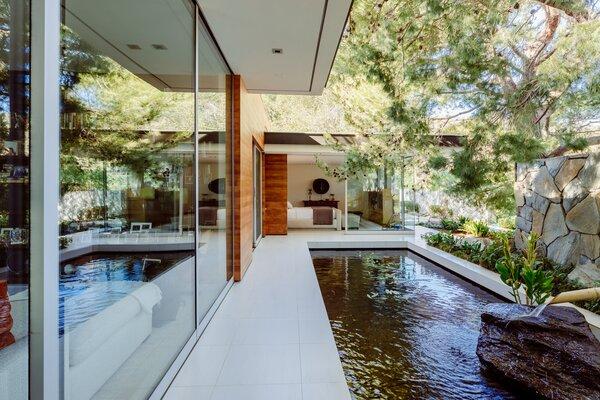 modern outdoor tile patio porch deck